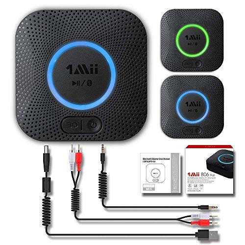 Receptor Bluetooth, Adaptador de Audio Inalámbrico Hi-Fi, 1Mii...