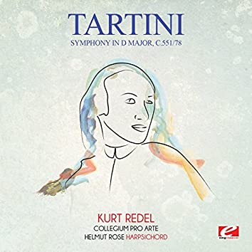 Tartini: Symphony in D Major, C.551/78 (Digitally Remastered)