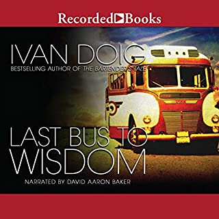 Last Bus to Wisdom audiobook cover art
