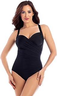 Miraclesuit 6516665 Network Madero Donna Costume Intero Modellante con Ferretto