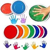 TAOtTAO Tampon encreur rond pour peinture au doigt - Pour enfants