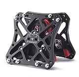 Pedal de MTB para Shimano XT spd-m780ajuste Crank Brothers para Speedplay Pedales SPD negro 1par