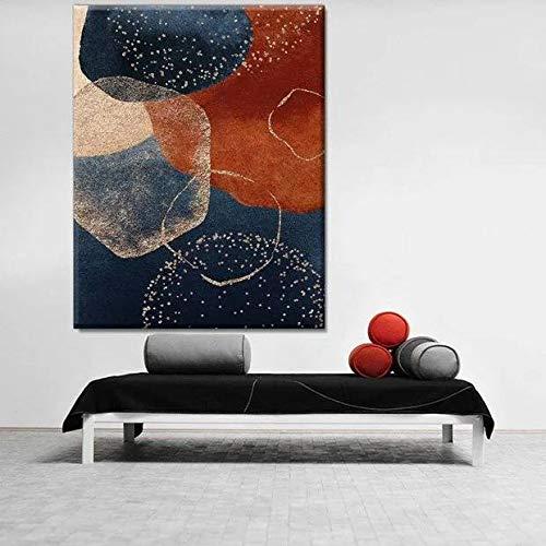 Quadro Decorativo Abstrato Requiem - 90x60cm