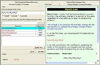 test thermodynamics software