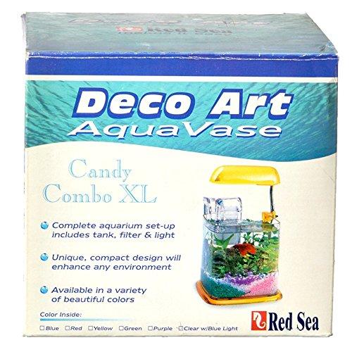 Deco Art Aqua Vase CANDY COMBO XL KIT - YELLOW
