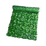POHOVE Clôture de lierre artificiel de 3 x 0,5 m - Haie artificielle pour la vie privée - Haie de feuilles - Décoration pour jardin extérieur