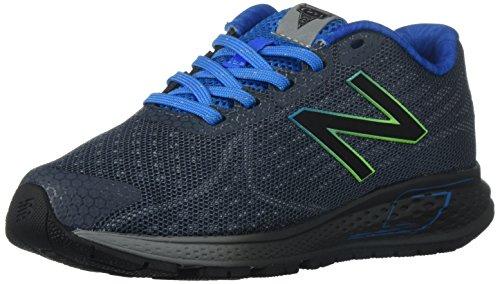 New Balance New Balance Boys' Vazee Rush Running-Shoes, Grey/Blue, 13.5 W US Little Kid
