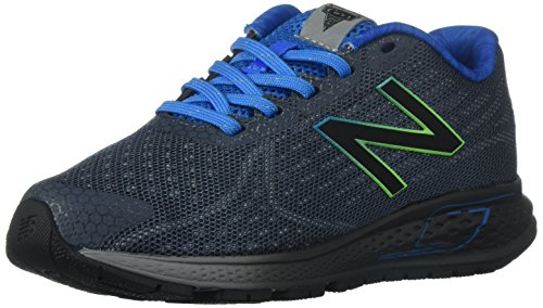 New Balance New Balance Boys' Vazee Rush Running-Shoes, Grey/Blue, 13.5 M US Little Kid