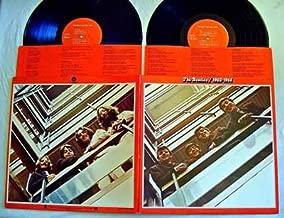 The Beatles 1962-1966 Double LP Album PLUS FREE BONUS 7' SINGLE! - Capitol Records 1973 - NEAR MINT VINYL! - RED LABELS with 2 Original Lyrics Sleeves -