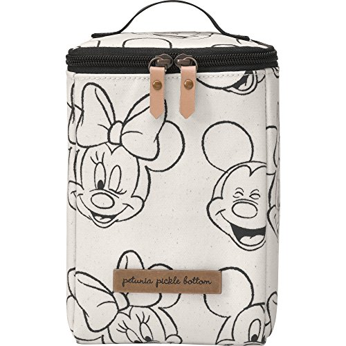 Petunia Pickle Bottom Cool Pixel Plus - Sketchbook Mickey & Minnie