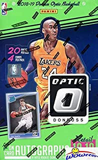 2018-19 optic basketball hobby box