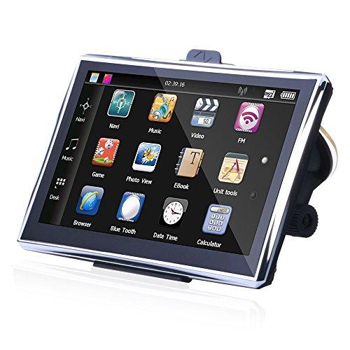 Vococal® 7pouces 128MB + 8GB Car Navigation GPS avec l'europe Carte Écran Tactile LCD