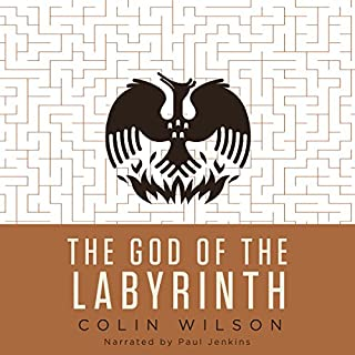 The God of the Labyrinth audiobook cover art