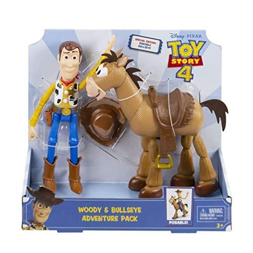 Mattel España, S.A. Figuras Toy Story Pack Aventuras Woody y Perdigon