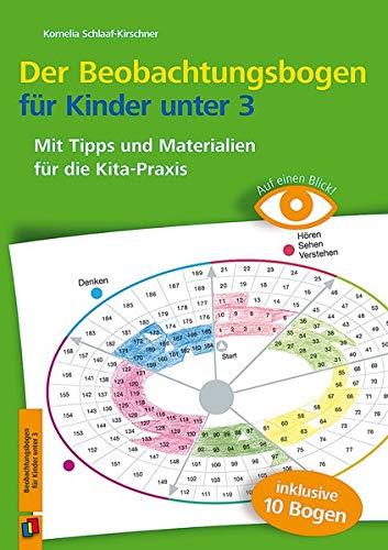 Auf einen Blick: Der Beobachtungsbogen für Kinder unter 3: Mit Tipps und Materialien für die Kita-Praxis