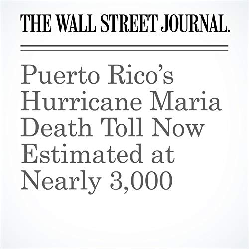 Puerto Rico's Hurricane Maria Death Toll Now Estimated at Nearly 3,000 copertina