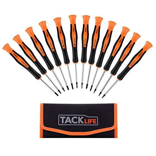 Precision Screwdriver Set, TACKLIFE 12Pcs...