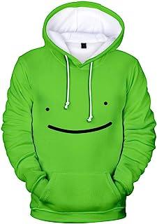 Flyself Men's Hoodie Dreamwastaken Dream Smile Long Sleeve Hooded Sweatshirts Pullover Tops Jumper Sportswear Jacket