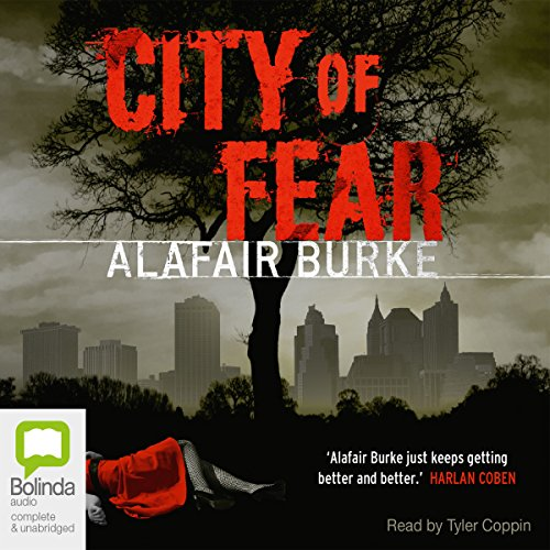 City of Fear audiobook cover art
