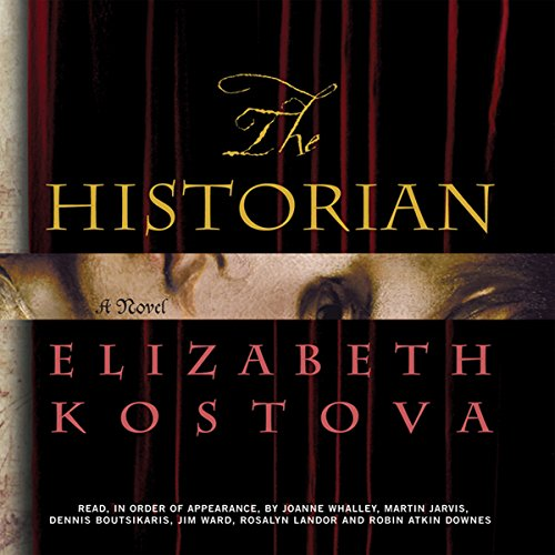 The Historian                   By:                                                                                                                                 Elizabeth Kostova                               Narrated by:                                                                                                                                 Joanne Whalley,                                                                                        Dennis Boutsikaris,                                                                                        Rosalyn Landor,                   and others                 Length: 10 hrs and 30 mins     21 ratings     Overall 4.3