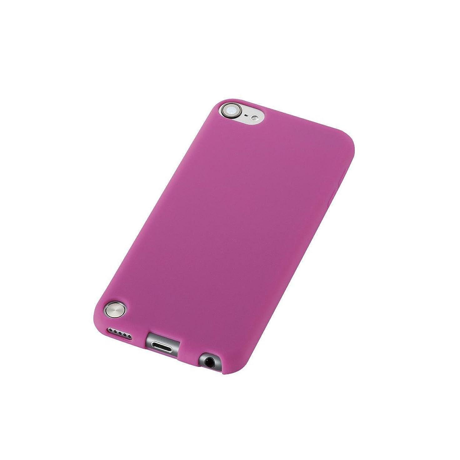 強制的窒息させるオーバーコートELECOM iPod touch 2012年/2013年発売モデル シリコンケース ピンク AVA-T13SCPN
