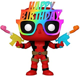 Funko Pop Marvel Birthday Glasses Deadpool