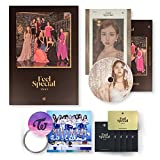 TWICE 8th Mini Album - FEEL SPECIAL [ C ver. ] CD + Photobook + Lyrics Paper + Photocards + FREE GIFT