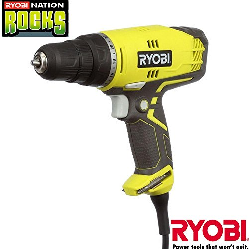 Ryobi D48CK 5.5 Amp 3/8 in. Variable Speed Clutch Driver (Green)