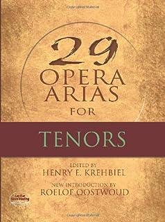 Twenty-Nine Opera Arias For Tenor