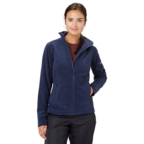 Mountain Warehouse Raso Womens Winter Full Zip Fleece Lightweight Thermal