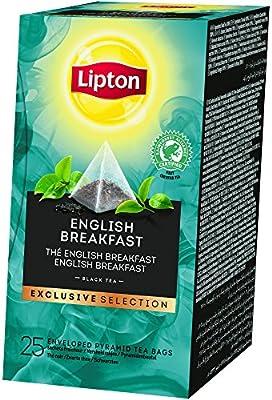 Lipton Exclusive Selection Thé Noir English Breakfast 25 sachets pyramides parent