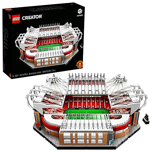 LEGO Creator Expert Old Trafford - Manchester United 10272 Building Kit for Adults and Collector Toy, New 2020 (3,898 Pieces)