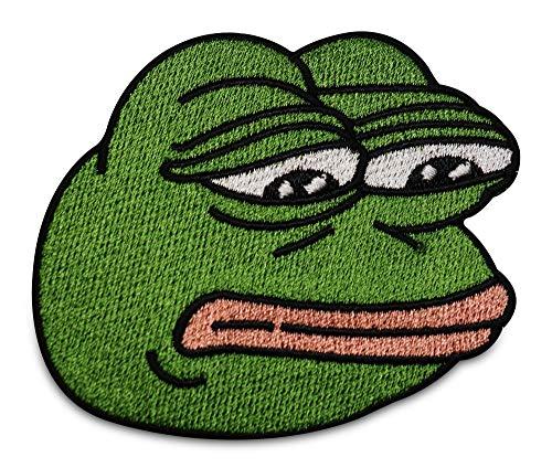 Finally Home Pepe der Frosch Meme Traurig Patch zum Aufbügeln   Patches, Bügelflicken, Flicken, Aufnäher