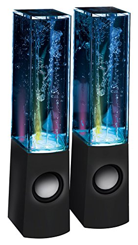 Proxelle LED Dancing Water Speakers Light Music Water Fountain Show...