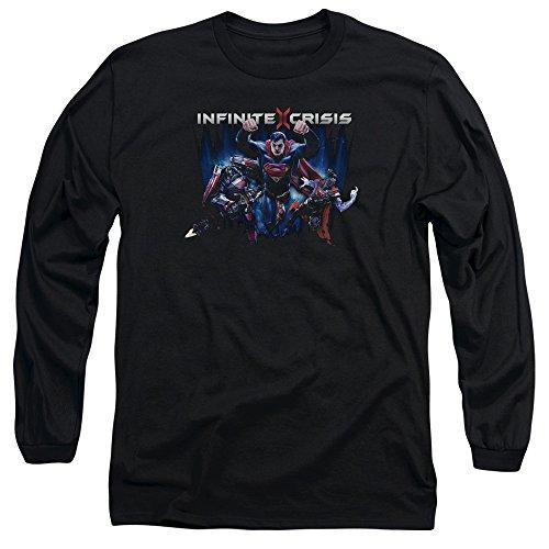 Crise Infinie - Ic super Tee-shirt à manches longues, Large, Black