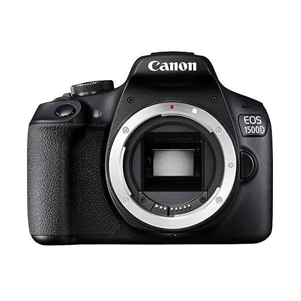 RetinaPix Canon EOS 1500D 24.1MP Digital SLR Camera (Black)