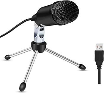 ZealSound Plug&Play Home Studio USB PC Microphone