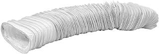 Flachkanal 220x55mm lange 3m PVC Abluftschlauch - Schlauch - Abzug - Abluft für Klimaanlagen, Wäschetrockner, Abzugshaube Trocknerzubehör