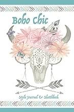 Boho Chic Style Journal & Sketchbook