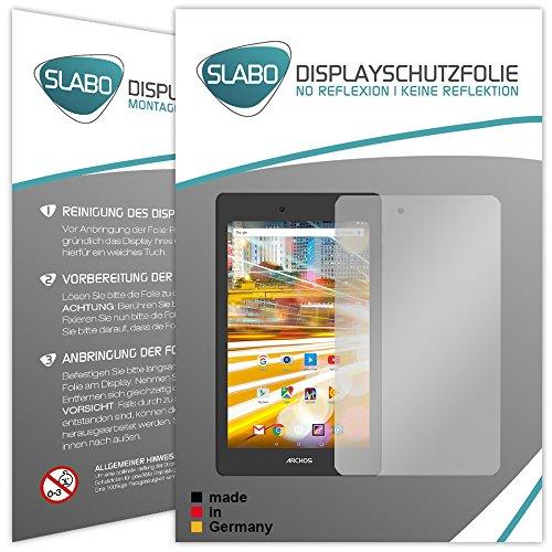 Slabo 2 x Bildschirmschutzfolie für Archos 70 Oxygen Bildschirmschutz Schutzfolie Folie No Reflexion | Keine Reflektion MATT