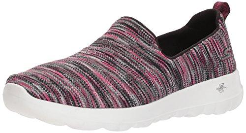Skechers Performance Women's Go Walk Joy-15615 Sneaker,black/pink,9 M US