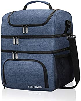 Seehonor 18L Leakproof Reusable Large Capacity Lunch Bag