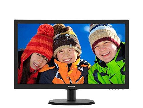 Monitor LED Philips Full HD 21,5' Widescreen - 223V5LHSB2