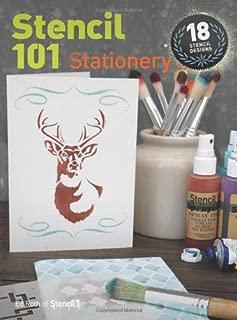 Stencil 101 Stationery: 18 Stencil Designs