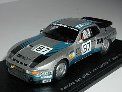 1 43 Porsche 924 GTR 82 Le Mans   87 J. Busby   D. Bundy (S0987) (japan import)
