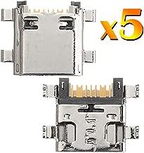 BisLinks 5 x for Samsung Galaxy J1 J5 J7 2015 USB Charging Port Connector J100 J500 J700 Replacement Part
