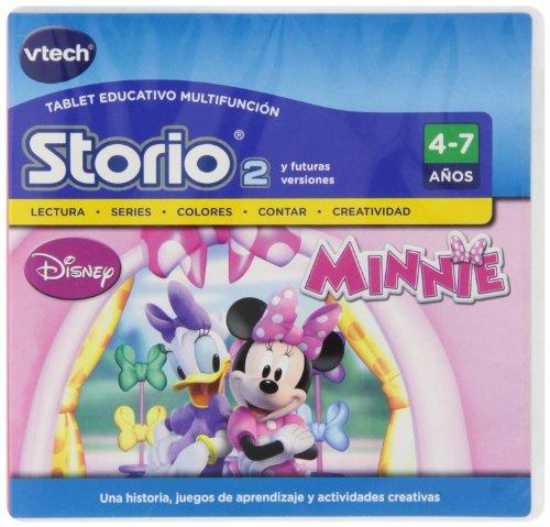 VTech - Juego para Tablet Educativo, Storio, Minnie (3480-231722)