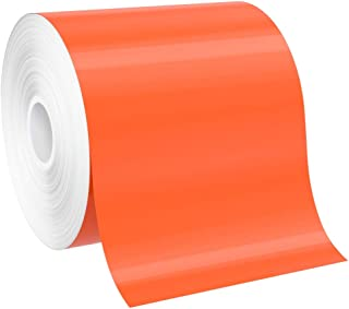 "SafetyPro 4""x150` Orange Premium Vinyl Labeling Tape, for SafetyPro, Duralabel 4TTP, Duralabel Pro, VnM, and Select LabelT..."