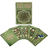 Brybelly Aces High Premium Green Playing...