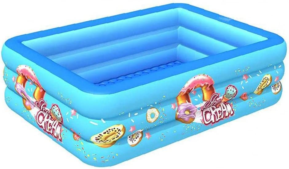 NIDONE Inflatable supreme Swimming Pool 3 Square Children B Summer Layer Lowest price challenge